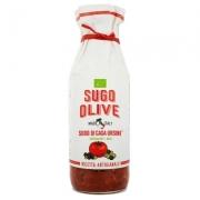 Sugo di casa rosso olive gr500 biologico