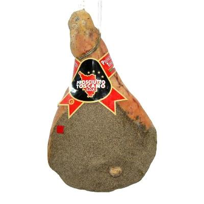 Prosciutto toscano c/o con pepe 16mesi kg9,5
