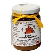 Salsa per formaggi pere con aceto balsamico gr150 Bio