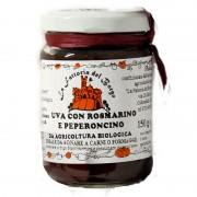 Salsa per formaggi uva/rosmarino/peperoncino gr 150 Bio