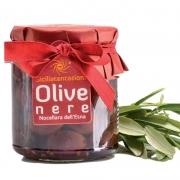 Olive nere nocellara in olio 270gr