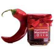Peperoncino macinato in olio 190gr