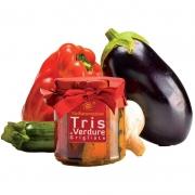Tris verdure grigliate in olio 270gr