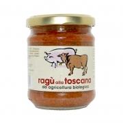 Ragù alla Toscana da agricoltura biologica 180gr