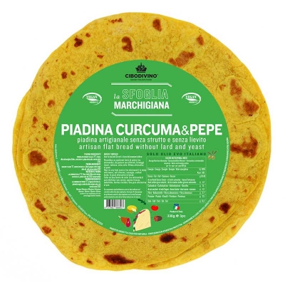 Piadina Curcuma & Pepe