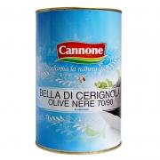 Olive nere giganti Cerignola 7/9 salamoia ml4250