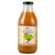 Frutta da bere mela-carota senza zucchero ml.750 bio