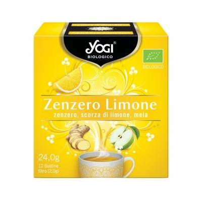 Yogi zenzero e limone 12 filtri BIO