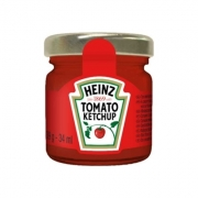 Heinz ketchup mini jar ml33
