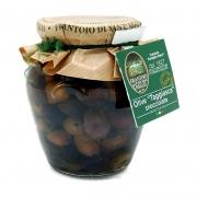 Olive taggiasche snocciolate in olio extravergine 180gr