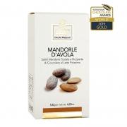 Mandorle d'avola ricoperte di cioccolato gr120
