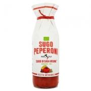 Sugo di casa rosso peperoni gr500 biologico