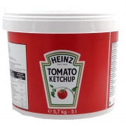 NEW HEINZ KETCHUP CATERING PAIL 5L
