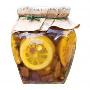 Olive taggiasche agli agrumi in olio extravergine 270gr