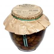 Olive taggiasche snocciolate in olio extravergine 650gr