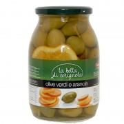Olive bella Cerignola con arancio salamoia kg1