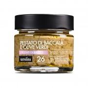 Pestato di bacco baccalà e olive verdi 145gr