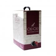Vino rosso marche IGP box litri 5