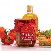 Patè di olive verdi e pomodoro 90gr