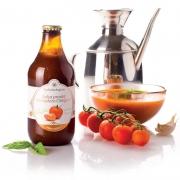 Salsa di pomodoro ciliegino biologico al basilico 33cl
