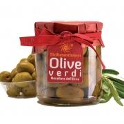 Olive verdi nocellara in olio 270gr
