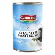 Olive nere denocciolate 28/32 salamoia ml4250