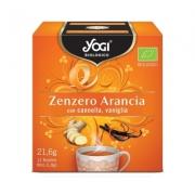 Yogi zenzero arancia 12 filtri BIO