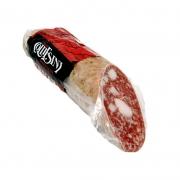 Salame classico tipo Fabriano con lardelli metà gr350