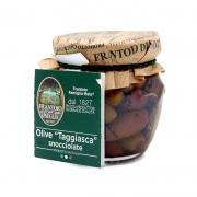 Olive taggiasche snocciolate in olio extravergine 90gr